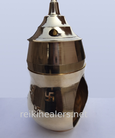 brass camphor lamp burner